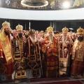 Света Архиерејска Литургија на денот на свети Климент Охридски, Скопје (08.12.2018)