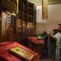 Божествена Литургија во храмот на св. Јован Крстител, н. Капиштец,Скопје (13.12.2018)