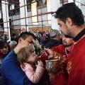 Божествена Литургија во храмот Рождество на Пресвета Богородица, Скопје (07.04.2019)