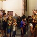 Божествена Литургија во храмот на св.Јован Крстител, н.Кaпиштец,Скопје (15.09.2019)
