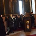 Заупокоена Божествена Литургија во храмот на св.Петка, Скопје (22.02.2020)