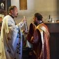 Божествена Литургија во храмот на св. Јован Крстител, н. Капиштец,Скопје (06.09.2020)