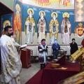 Божествена Литургија во храмот на св.пророк Илија, н.Аеродром Скопје (26.02.2021)